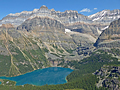 Lake Mary, Lake Ohara, Winwaxy Peak and Mount Huber