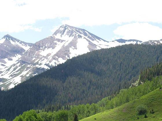 Thompson Peak and the Yule Creek Drainage
