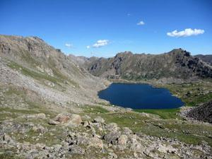View of Lost Man Lake from Lost Man Pass