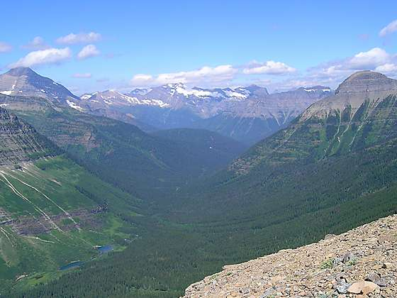 Dawson Pass Hiking Trail In Two Medicine Glacier National Park Mt