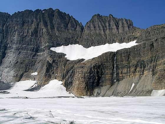 Grinnell Glacier Hiking Trail in Many Glacier Glacier National Park MT