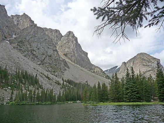 Lost Lake Hiking Trail near Red Lodge, MT in the Absaroka