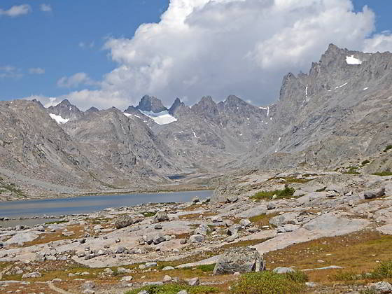Cirque at the head of Titcomb Basin