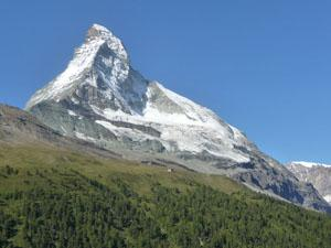 Close-up of the Matterhorn